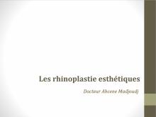 Rhinoplasties Esthétiques en Algérie